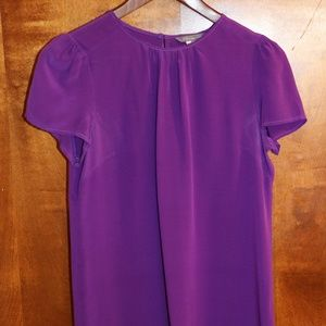 Tops - Pippa Womens Top Size 6 Purple Short Sleeve